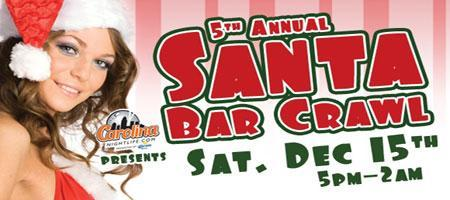 5th Annual Santa Bar Crawl (Charleston, SC)