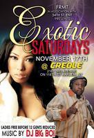 Exotic Saturdays at Creole Supper Club