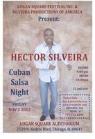 Hector Silveira- Cuban Salsa Night @ Logan Square...