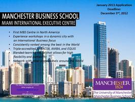 Manchester Business School Connect 1-2-1 - Toronto