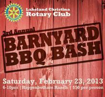 3rd Annual Barnyard BBQ Bash - Lakeland Christina...