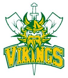 Queens County Vikings logo