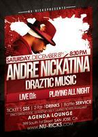 Andre Nickatina Live December 8