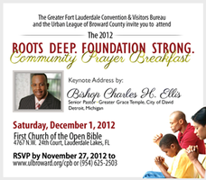"""Roots Deep, Foundation Strong"" Prayer Breakfast"