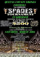1st Annual Queens County Vikings Spades Tournament...