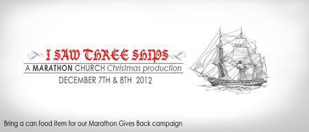 I Saw Three Ships Christmas Production Sat 6pm