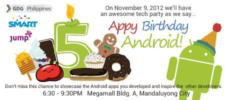 APPy Birthday Android!
