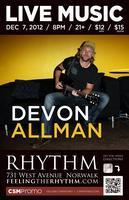 Devon Allman w/ Solistic