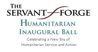 The Servant Forge Humanitarian Inaugural Ball