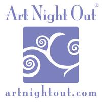 Art Night Out - Bronze Precious Metal Clay (PMC) Charm