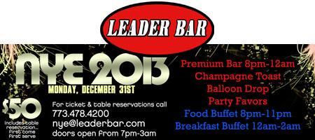 Leader Bar New Year's Eve 2013