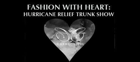 Hurricane Relief Trunk Show