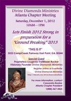 Divine Diamonds Ministries Atlanta Chapter Meeting...