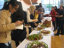 Welcome Buffet - hosted by ISSS.