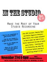 In the - Planning, Budgeting, and Booking Studio...