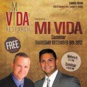 Mi Vida Research Seminar - Tampa, FL
