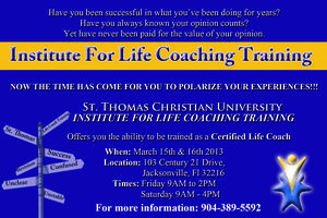 Institute for Life Coaching Training