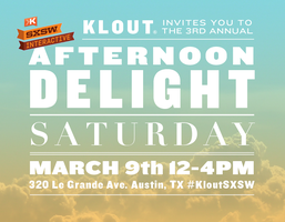 Klout Afternoon Delight