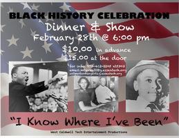Black History Dinner & Show Celebration