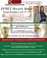 EPNET Holiday Networking Mixer