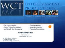 West Caldwell Tech Performing Arts logo