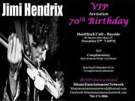 Jimi Hendrix 70th Birthday Party