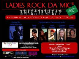Ladies Rock Da Mic-Holiday Giving Edition