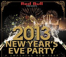 RED BULL PRESENTS NYE 2013 A SMASHING NEW YEAR AT...