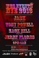 12/31 - WCS Events NYE 2013!  JASK, TONY POWELL, ZACK...