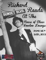 Richard Rauda at the House of Blues' Voodoo Lounge