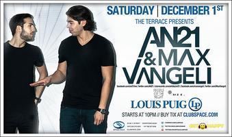 ✦ AN21 & MAX VANGELI (Terrace) - SIAN (Loft) - RADAMAS...