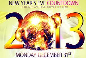 NEW YEAR'S EVE COUNTDOWN 2013 - QUEENS NY
