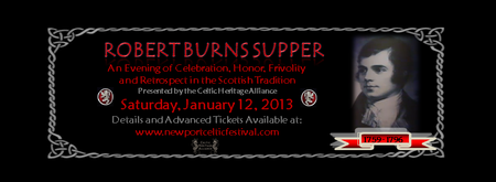 Robert Burns Supper (2nd Annual)