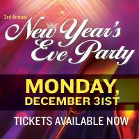 New Years Eve Party 1057 The Oasis 3rd Annual NYE VIP...