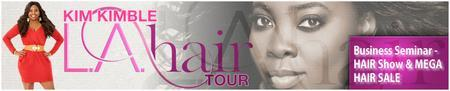 LA HAIR TOUR ft Kim Kimble (Louisville, KY)