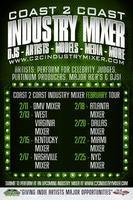 Coast 2 Coast Music Industry Mixer | NYC Edition - 2/25/13