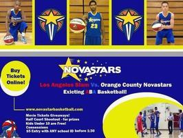 Live ABA Basketball Los Angeles Slam Vs. Orange County...