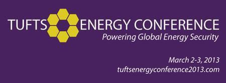 Tufts Energy Conference 2013: Powering Global Energy...