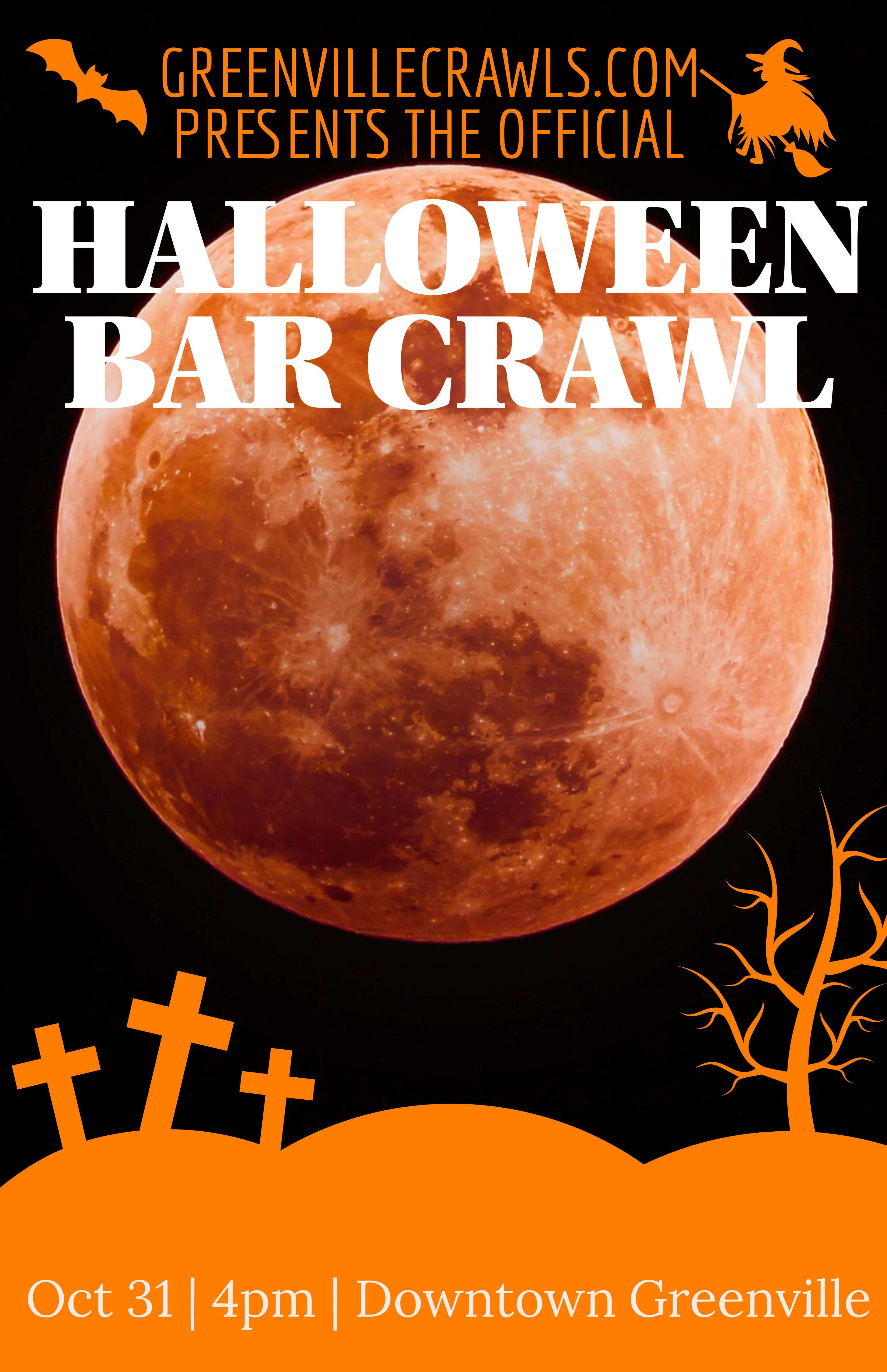 Greenville 2020 Halloween Halloween Bar Crawl   Greenville   31 OCT 2020