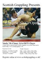 Glasgow No Gi Open 2013