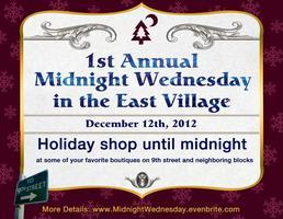 Shop Until Midnight & Help Local East Village...