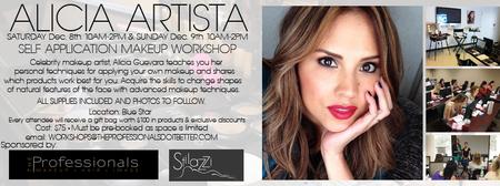 Self Application Makeup Workshop San Antonio,Texas