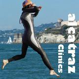 ALCATRAZ CLINIC AT ALCATRAZ - SWIM THE LAST LEG OF THE...