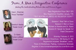 From A Man's Perspective Conference Vendor Table