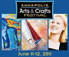 The Annapolis Arts, Crafts, and Wine Festival Booth...