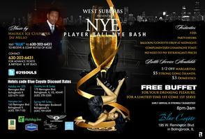 WEST SUBURBS NEW YEARS EVE PLAYER BALL BASH @ BLUE...