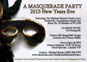 A MASQUERADE PARTY 2013 New Years Eve