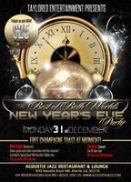 Acoustix Jazz Restaurant & Lounge NYE Celebration