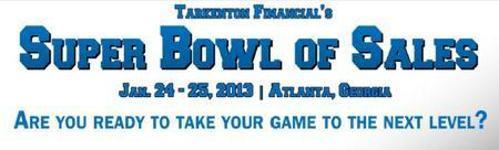 Tarkenton Financial's Super Bowl of Sales