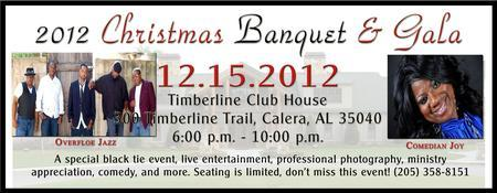 2012 Christmas Banquet & Gala